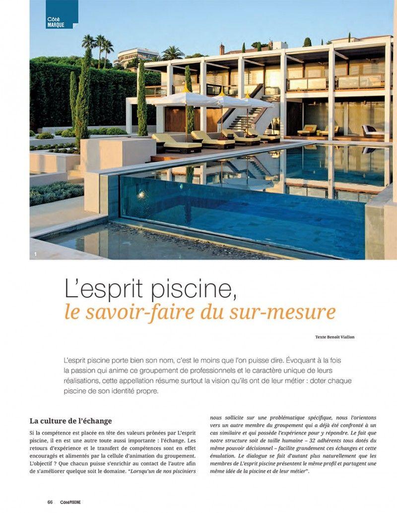 Piscine : le savoir-faire du sur-mesure piscine sur mesure photo