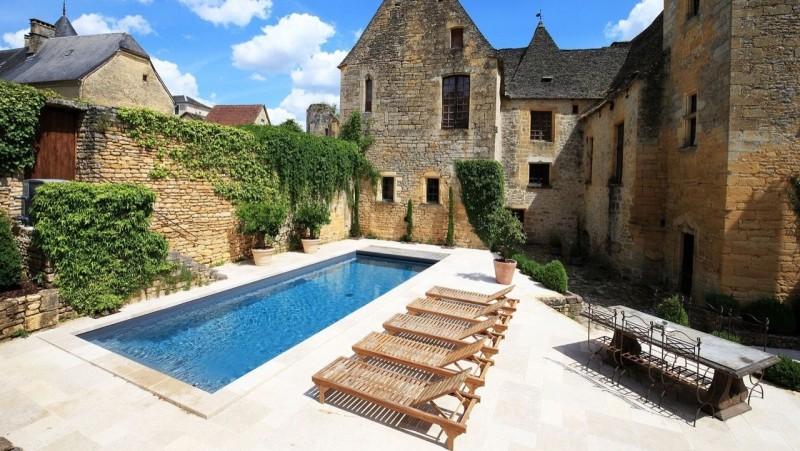 l'esprit familial piscine familiale maison pierre Les tendances de piscine