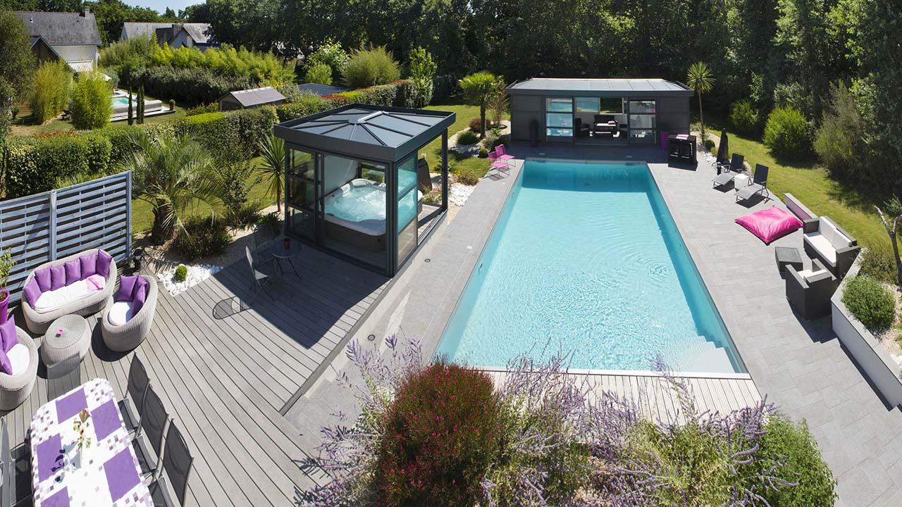 Installation piscine et spa extérieur