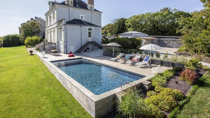 l'esprit familial piscine maison familial jardin Les tendances de piscine