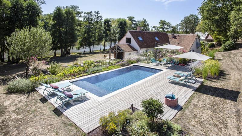 l'esprit nature piscine nature au bord de la riviere Les tendances de piscine