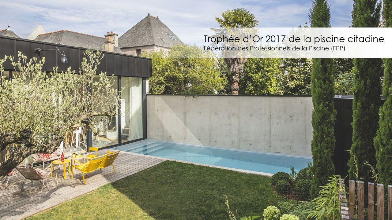 Trophée d'or FPP 2017 de la piscine citadine