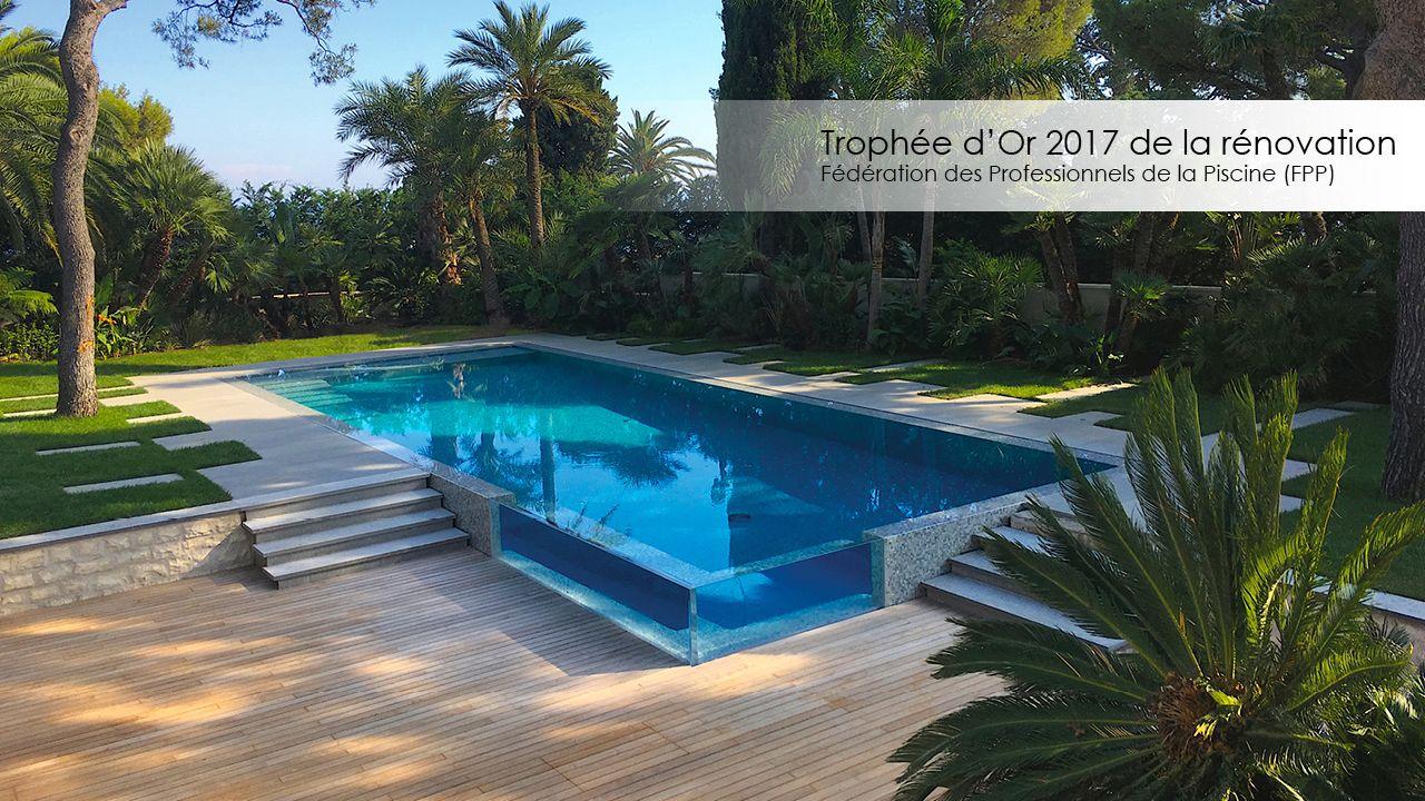 Trophée d'or FPP 2017 de la piscine rénovée