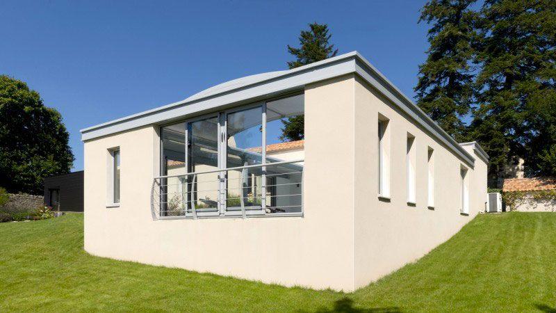 Piscine toit ouvrant 0636 Gris clair