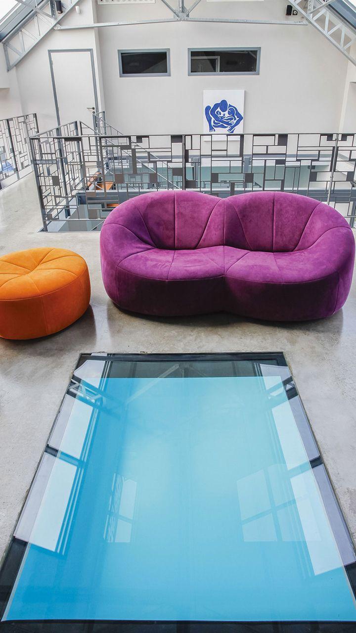 dans une grange du xviie si cle l 39 esprit piscine. Black Bedroom Furniture Sets. Home Design Ideas