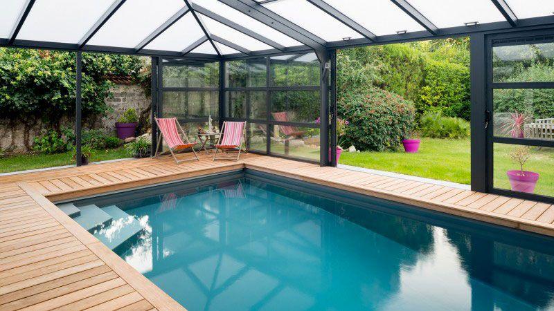 L'esprit verrière architecte pour piscine sous une verriere Archives