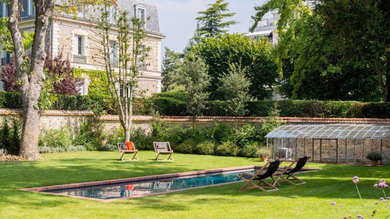 Un couloir de briques piscine 11 x 3 piscinier pisciniste Couloir de nage Gris anthracite