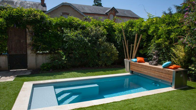 Beauté très tranquille piscine 450 x 220 m Piscine citadine Platinum