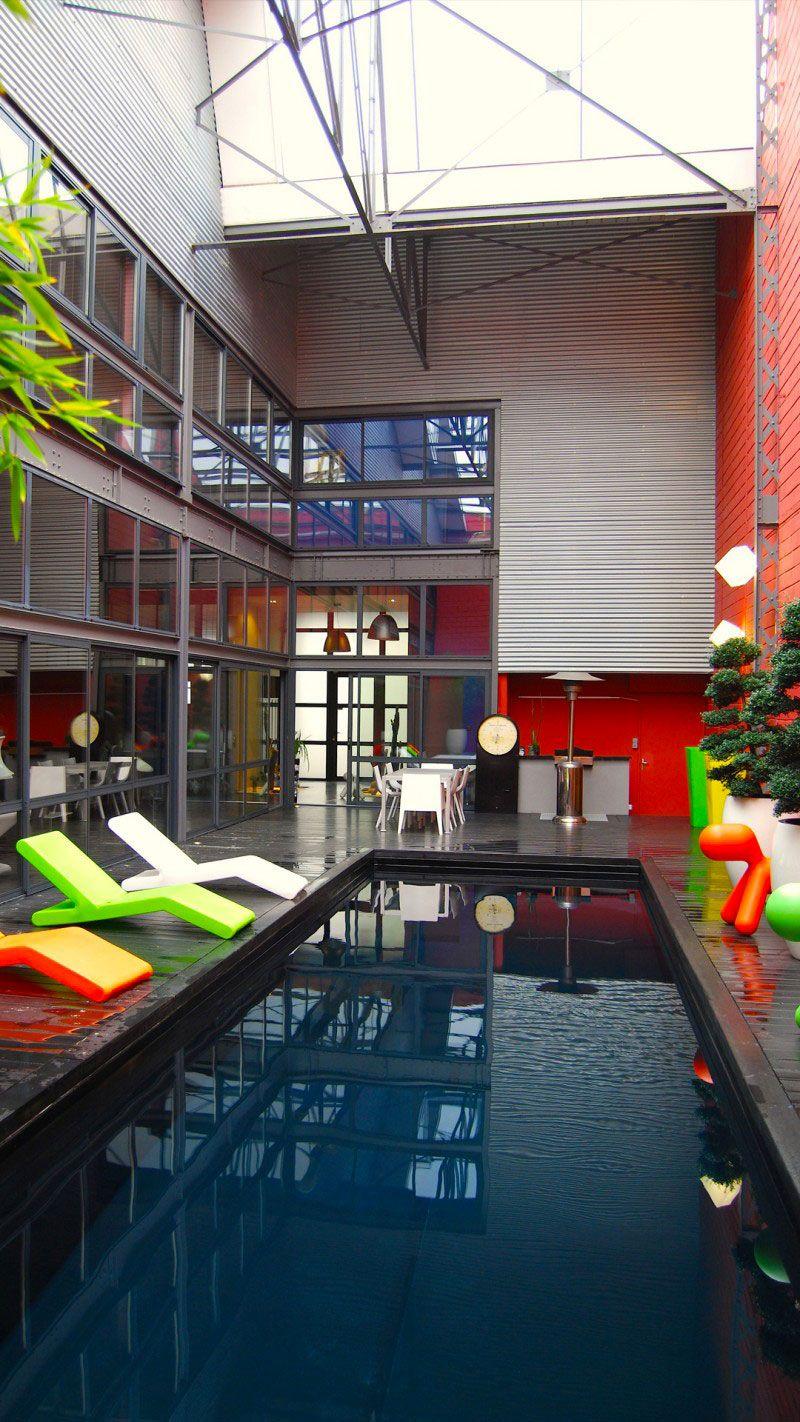 Urban style piscine architecture urbaine Noir