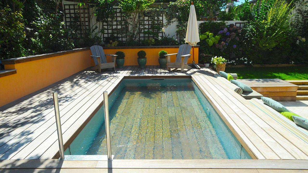 Best piscine jardin des deux rives photos for Abord piscine bois