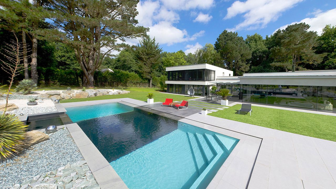 Piscine contemporaine design