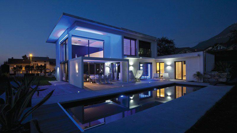 Installation piscine villa