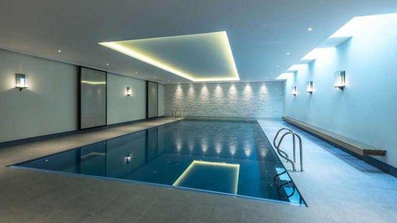 Exemple de projet piscine moderne