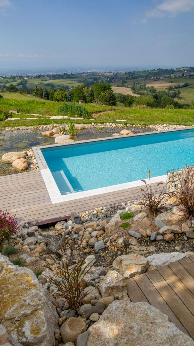 Piscine design originale