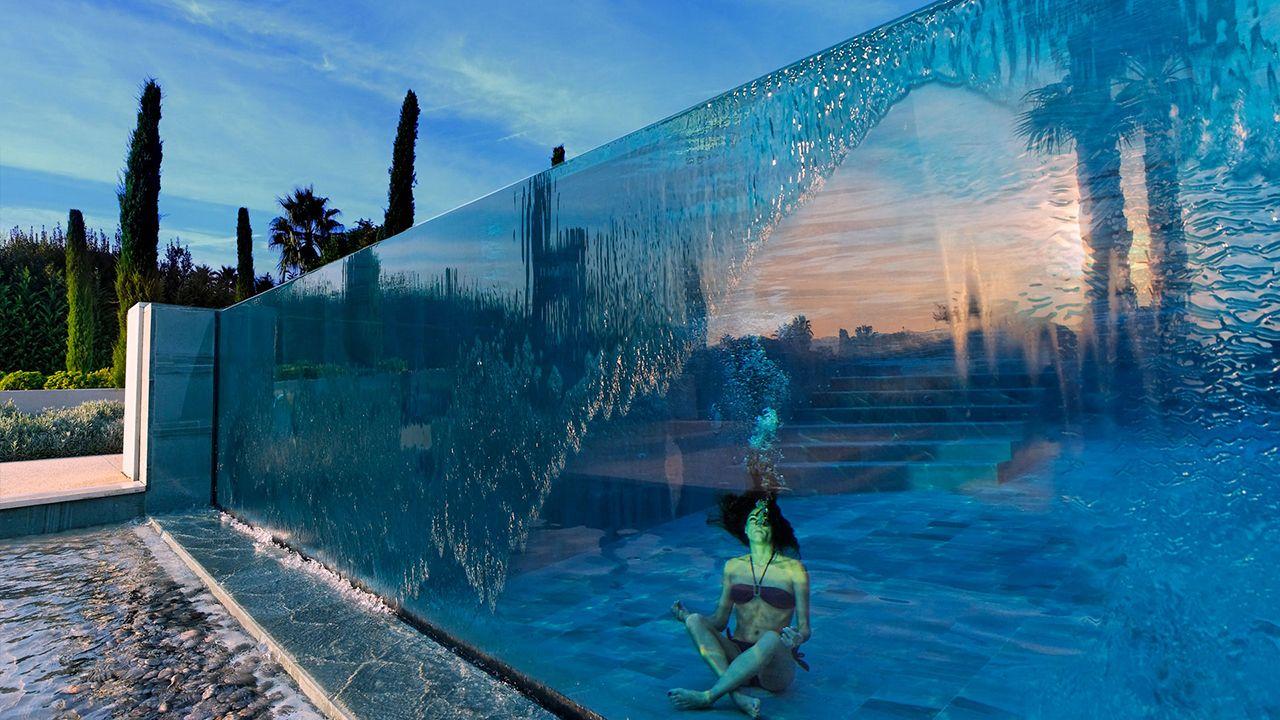 En toute transparence piscine luxe paroi vitree Archives
