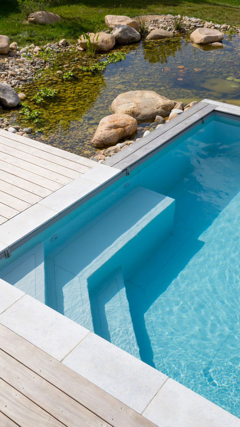 Piscine originale design