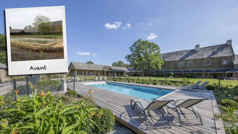 Rénover une piscine dans une maison de vacances