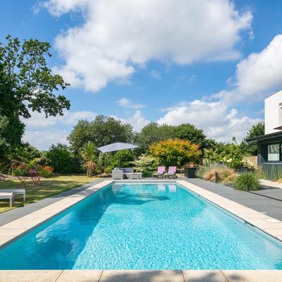 piscine Finistère construite par Piscine & Spa 29