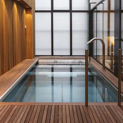 piscine Puy-de-Dôme construite par Jaune & Bleu