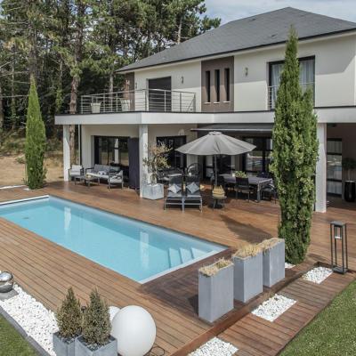 piscine Calvados construite par Larcher Piscines