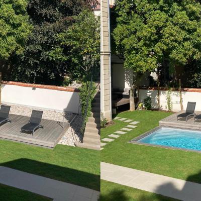 piscine Meurthe et Moselle construite par Pauchard Piscines et Paysages