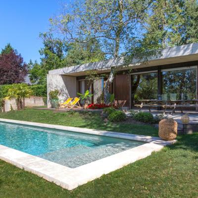construction de piscine Peguet Piscines et Jardins dans le 42