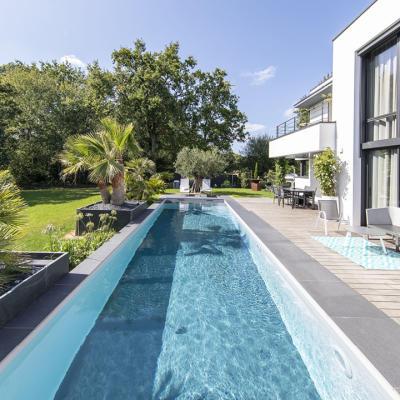 piscine Morbihan construite par Piscines Jms