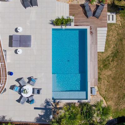 piscine Isère construite par Boucher Piscines & Paysages