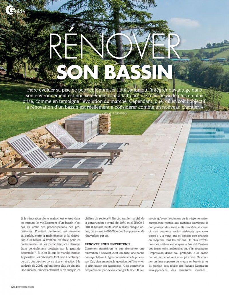 Piscines : les clés d'une rénovation réussie renovation piscine