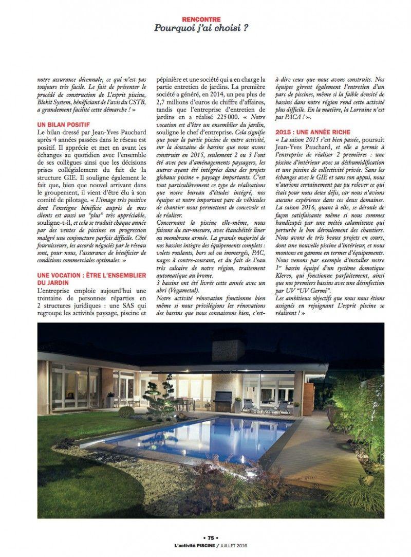 Pauchard Piscines et Jardins : Une affaire de famille piscine pauchard