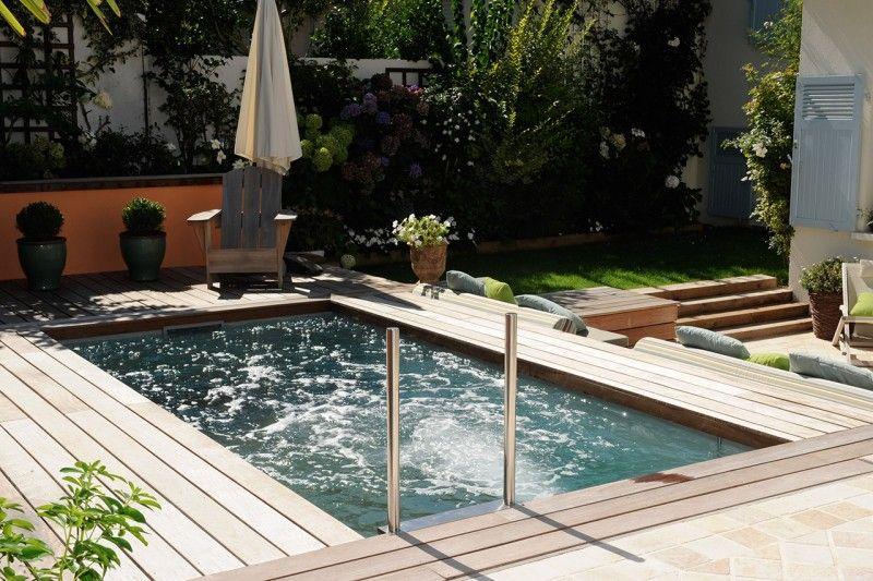Espace précieux mini piscine dans petit jardin Archives