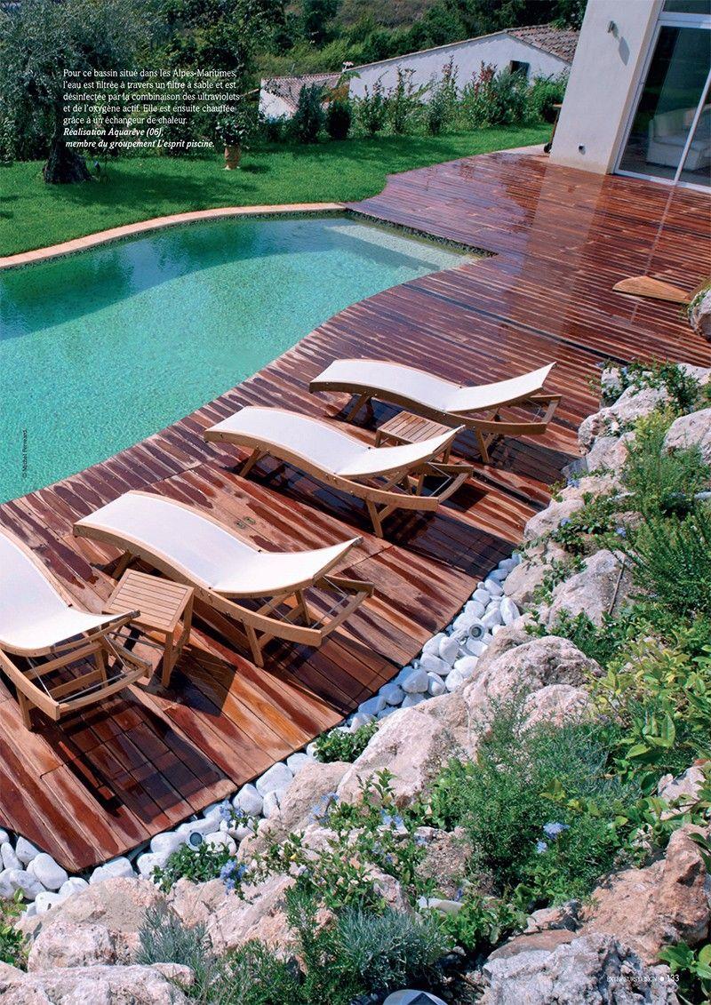 Gros plan sur la piscine basse consommation piscine basse conso