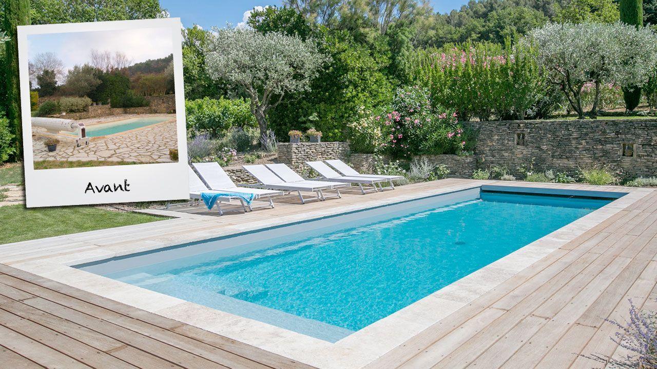 Retour aux racines moderniser une piscine Rénovation de piscines