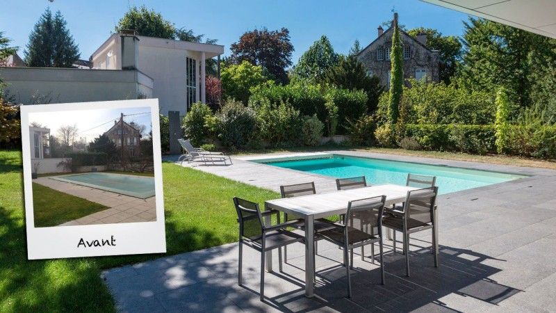 Pool staging piscine a renover