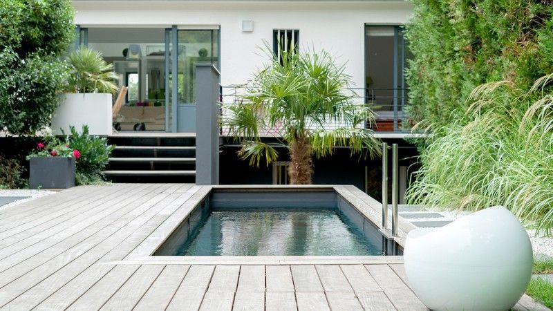 Petit piscine dans un petit espace piscine avec couverture terrasse Archives