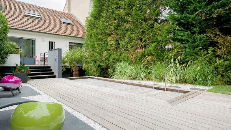 Petit piscine dans un petit espace piscine avec terrasse qui bouge Archives