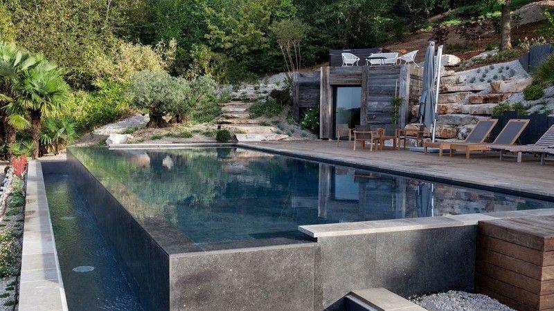 piscines à débordement