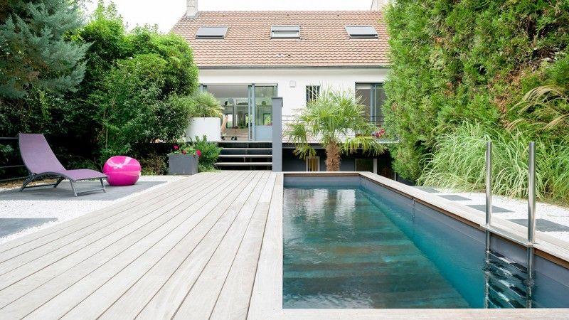 Petit piscine dans un petit espace terrasse amovible pour piscine design Archives