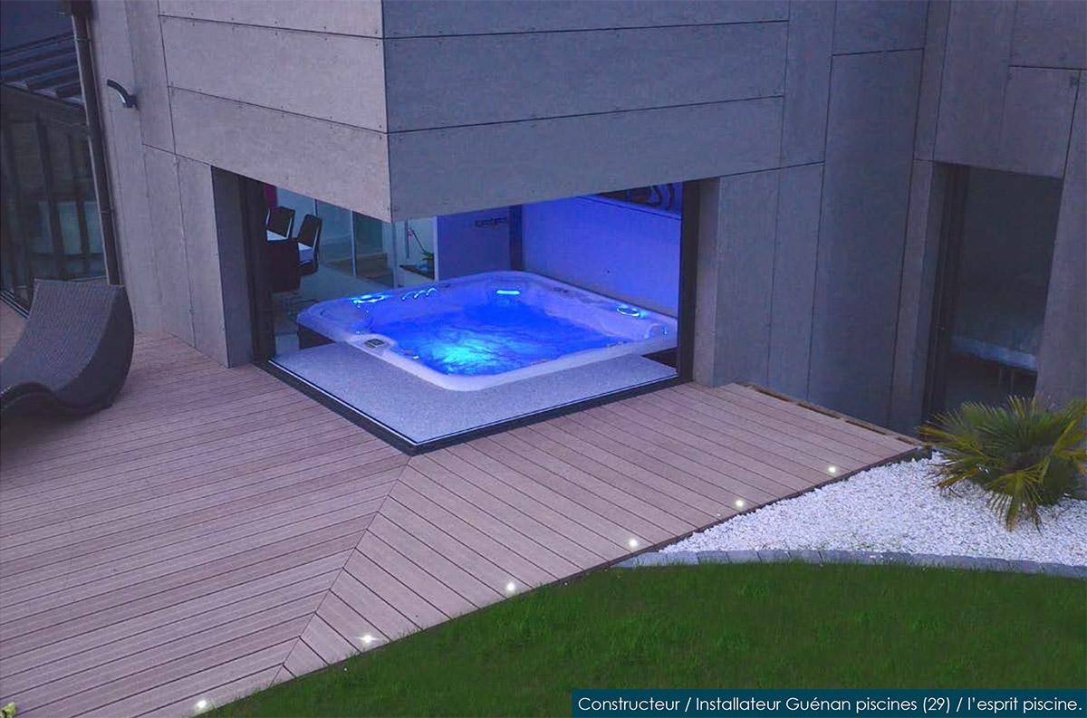 spa guenan piscines