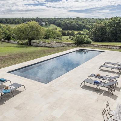 piscine Maine et Loire construite par Berjamin Paysage Piscine