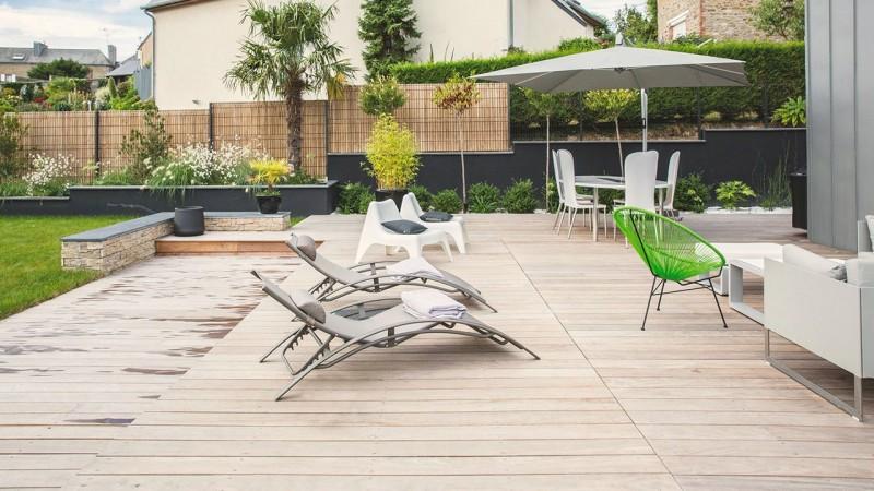 Un espace métamorphosé terrasse amovible pour piscine Piscine avec terrasse mobile Gris anthracite