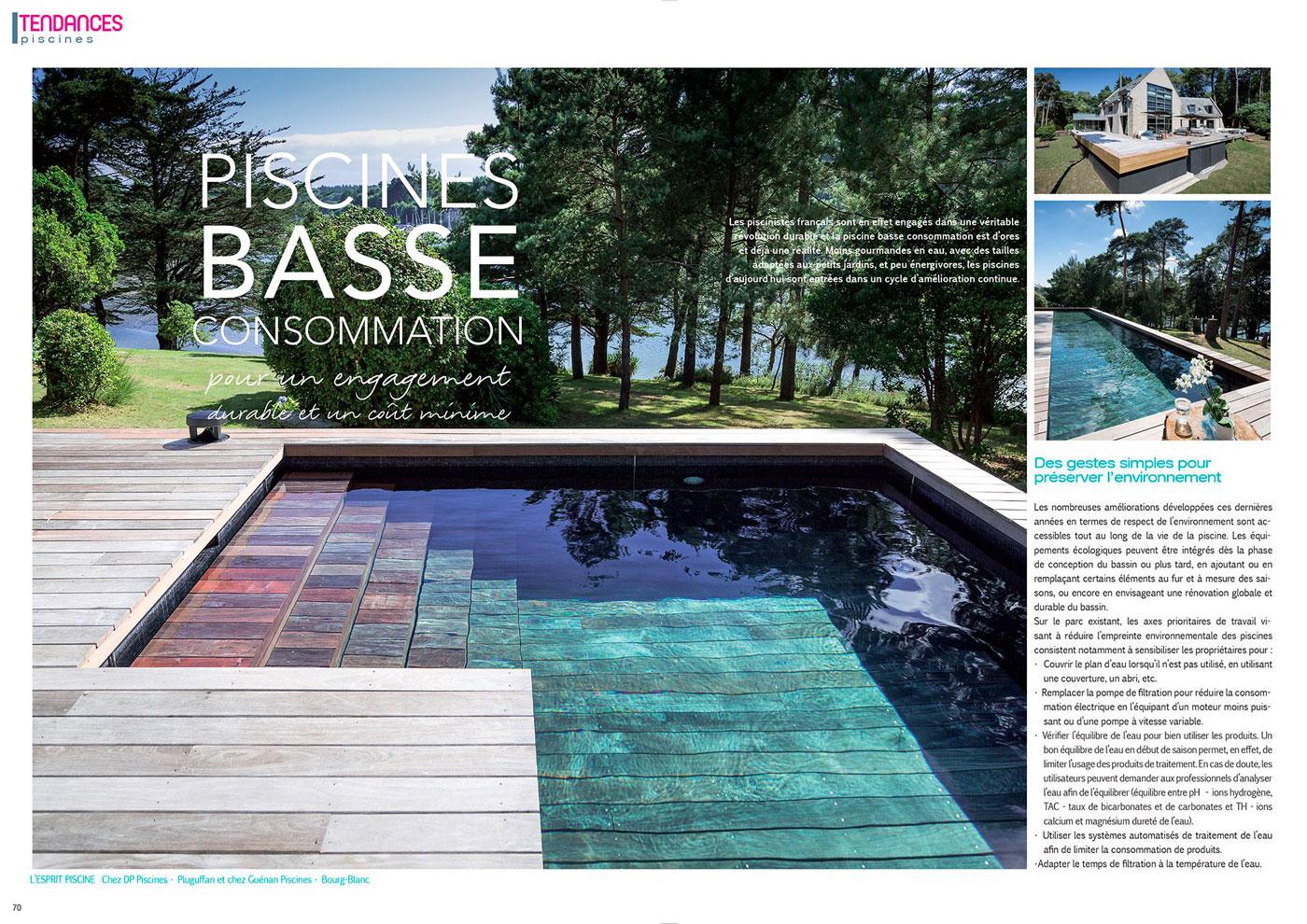 Piscines basse consommation : pour un engagement durable et un coût minime piscine basse consommation avec lesprit piscine