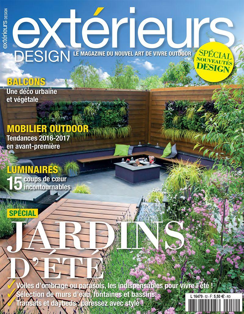 Blog l 39 esprit piscine for Jardin design magazine