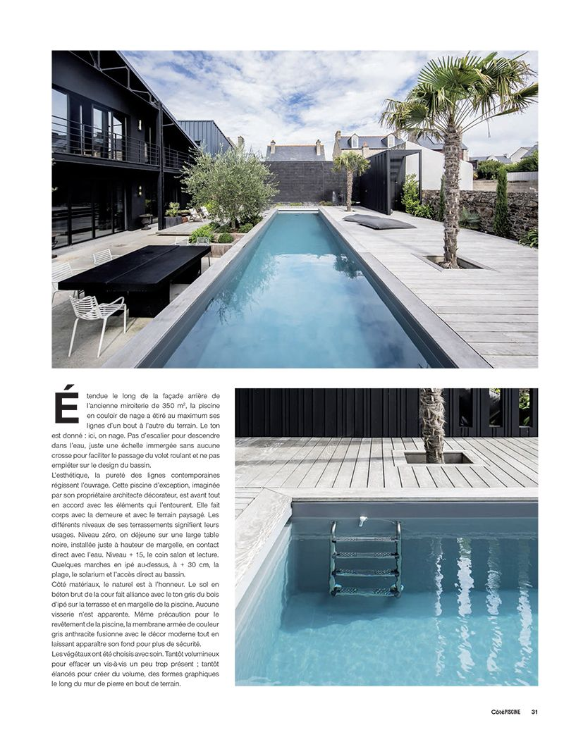 Article de cot piscine sur l 39 esprit piscine for Article piscine