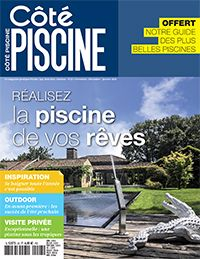 Belle piscine d'architecte