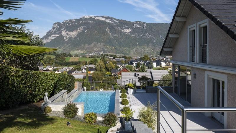 Bain en haut lieu amenagement terrasse piscine exterieure Archives