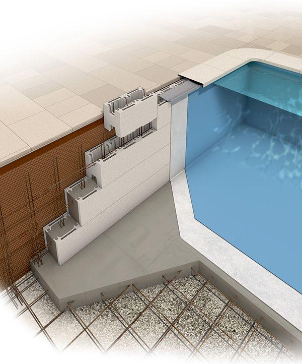 structure beton piscine