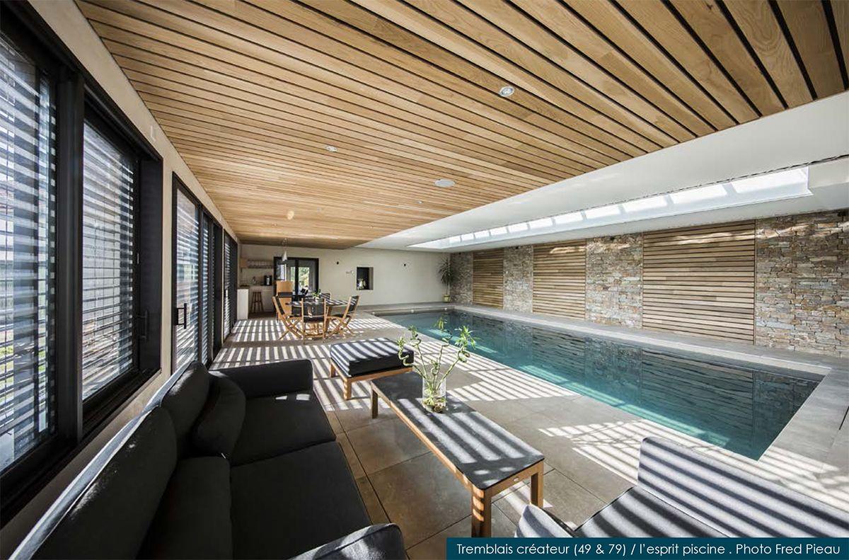 piscine intérieure pour Tremblais créateur