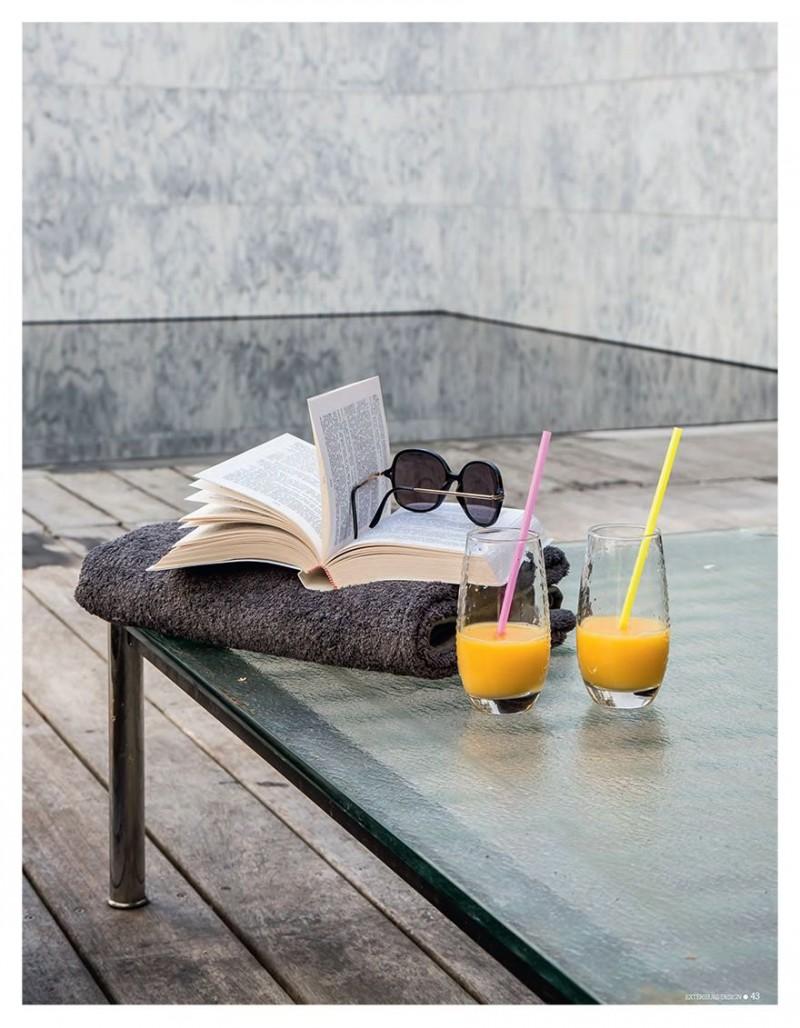 Une piscine ultra minimale esprit pisine minimale