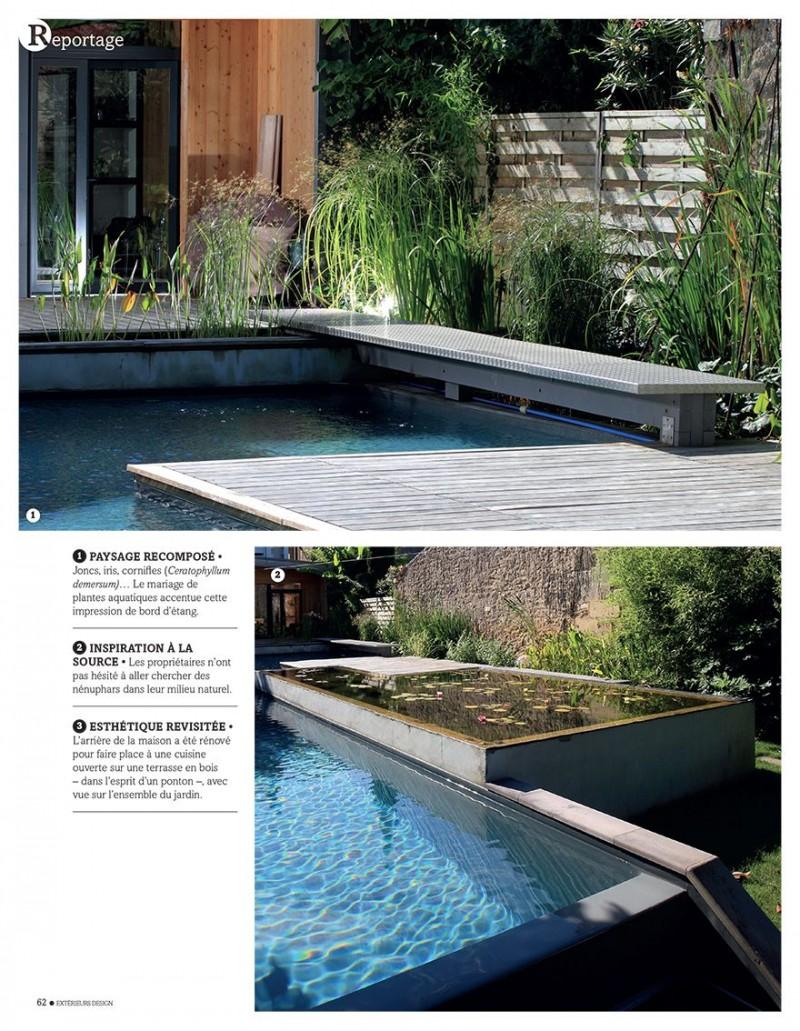 Jardin aquatique jardin petite piscine